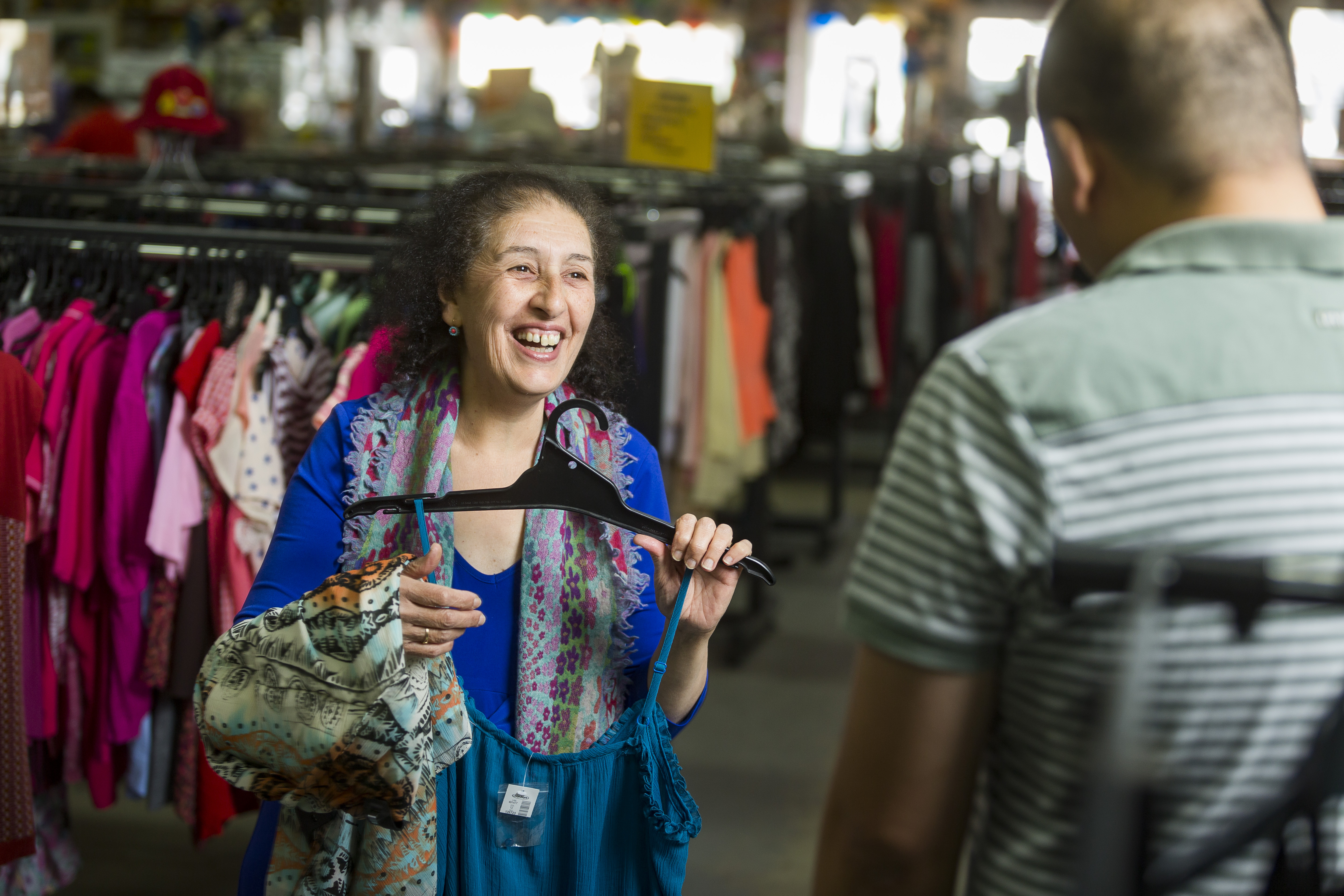 BSL op shops are currently closed under Stage 4 restrictions. We look forward to seeing Rosemary and the Brunswick Store team, and all Melbourne metropolitan stores back on deck when restrictions allow.