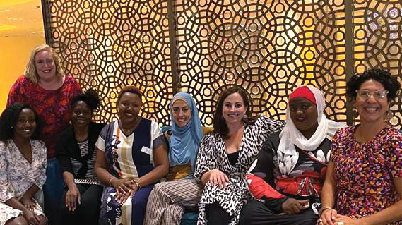 A group of Stepping Stones participants at Business Chicks 2020 International Womens Day Event