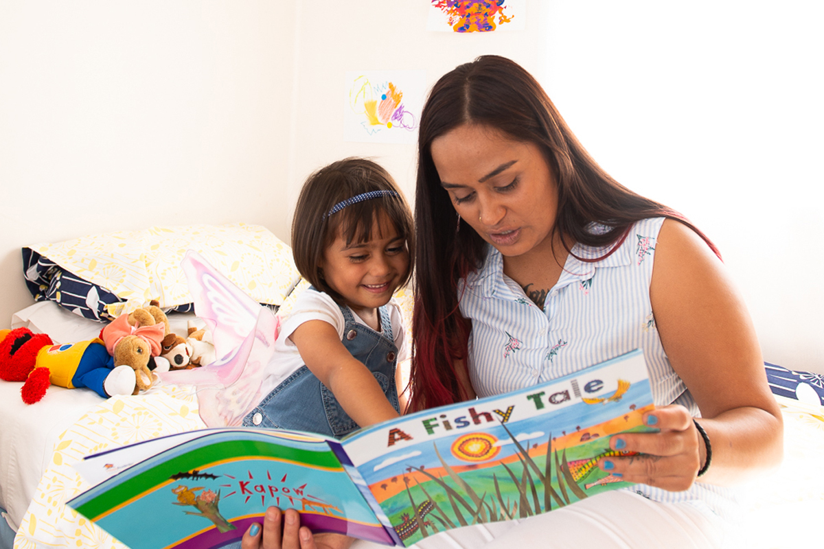 HIPPY supports families to develop a home environment that that encourages the development of a love of learning, literacy and numeracy skills.